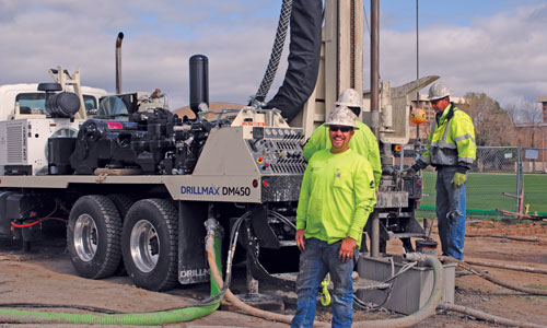 Succeed with a geothermal drilling rig that keeps pace with the repetitive well drilling on geothermal drilling sites.