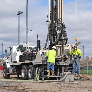 DM450 completes geothermal drilling with efficiency