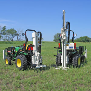54TR tractor-mounted drill rig